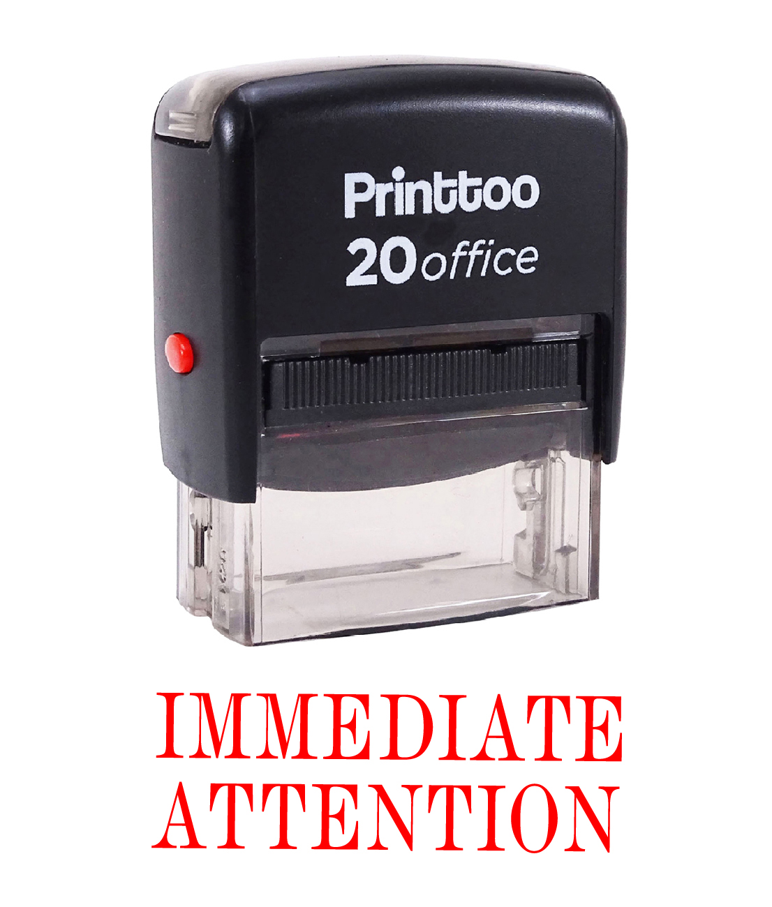 Details about  /Printtoo Rubber Stamp Office Stationary IMMEDIATE ATTENTION Self-AV7